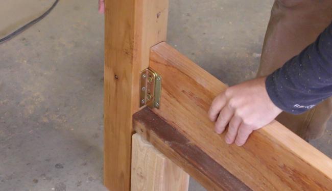 installing bed frame hardware