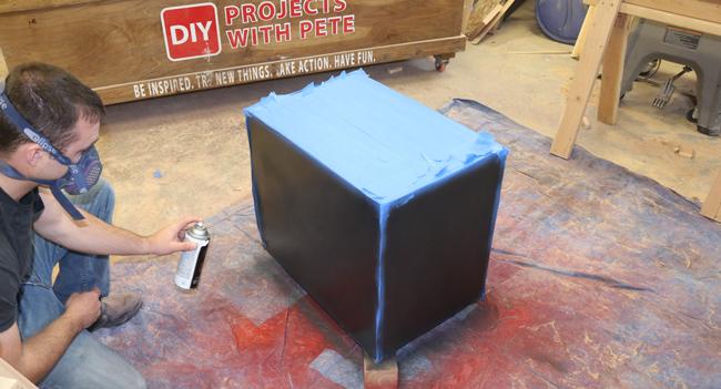 krylon paint plyometric box