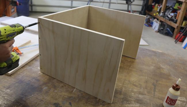 Making a plyometric box
