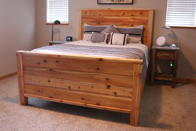 wood bed frame - Wooden Bed Frame Plans