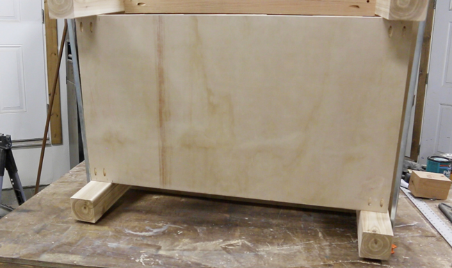 lower shelf for diy coffee table