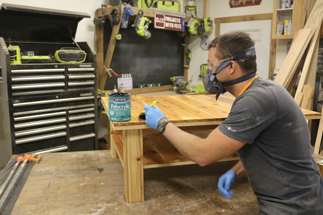 how to seal a coffee table