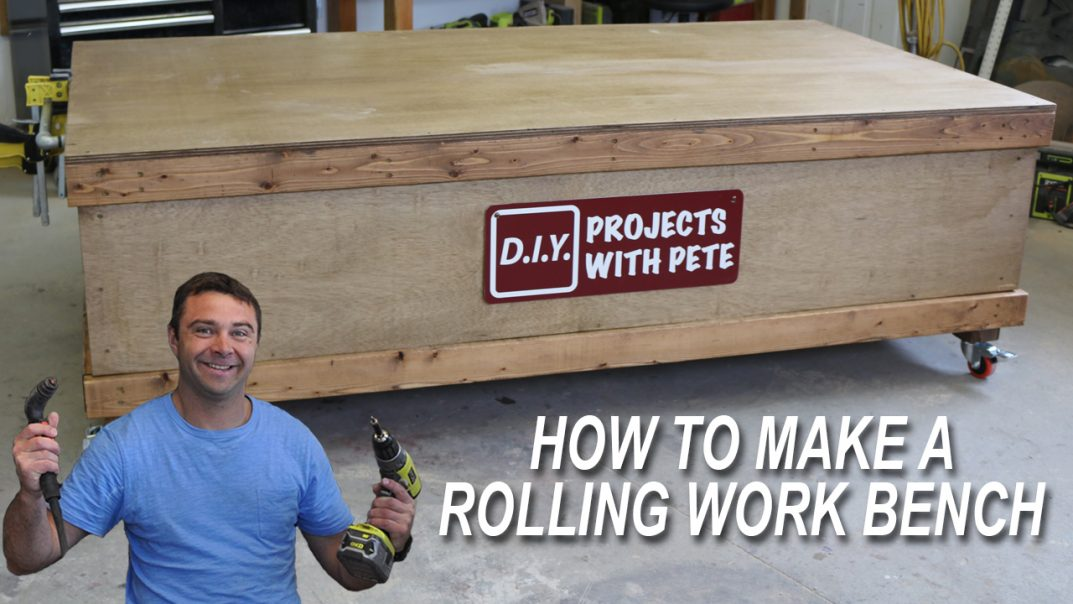 DIY Pete Rolliing Work Bench