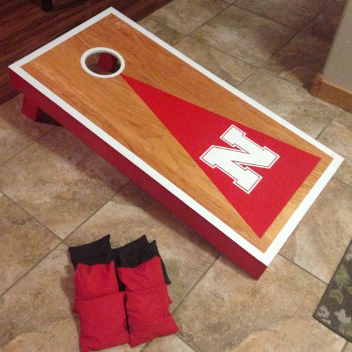 Cornhole board plans