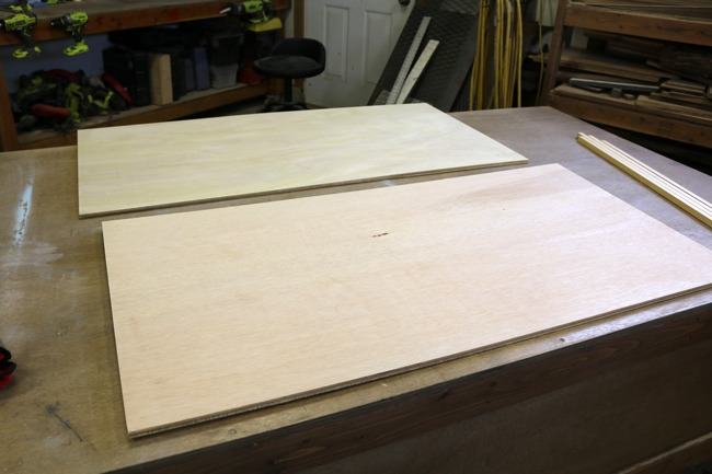 Cutting plywood to size