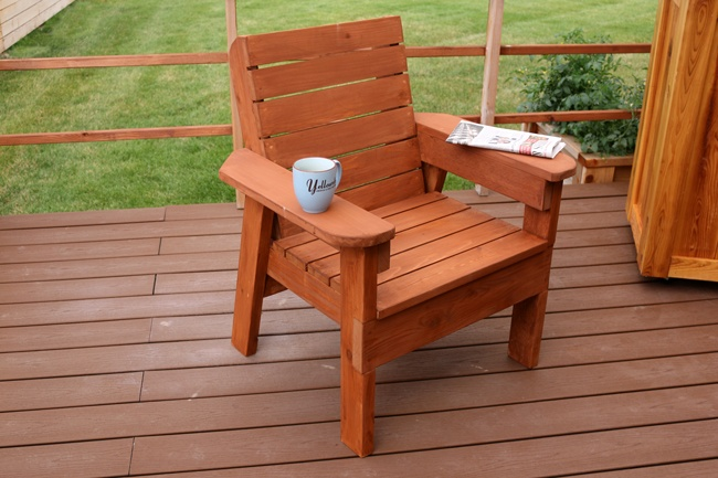 Make Your Own DIY Patio Chair