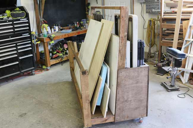 Load up Plywood Cart