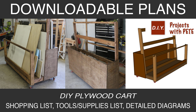 Gumroad Plans for Plywood Cart