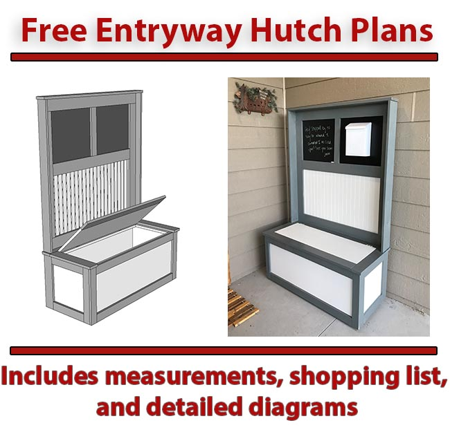 prodigious Diy Hutch Plans Part - 4: Hutch Plans