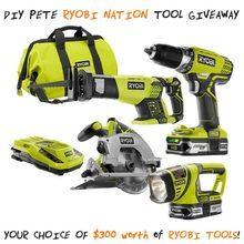 Tool Giveaway DIY PETE