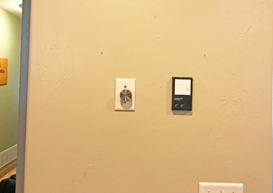 Electronics to hide on wall