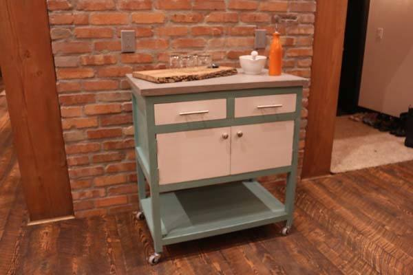 Diy Kitchen Island Cart - Diy Projects With Pete