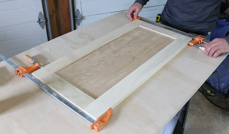 how to make cabinet doors easily