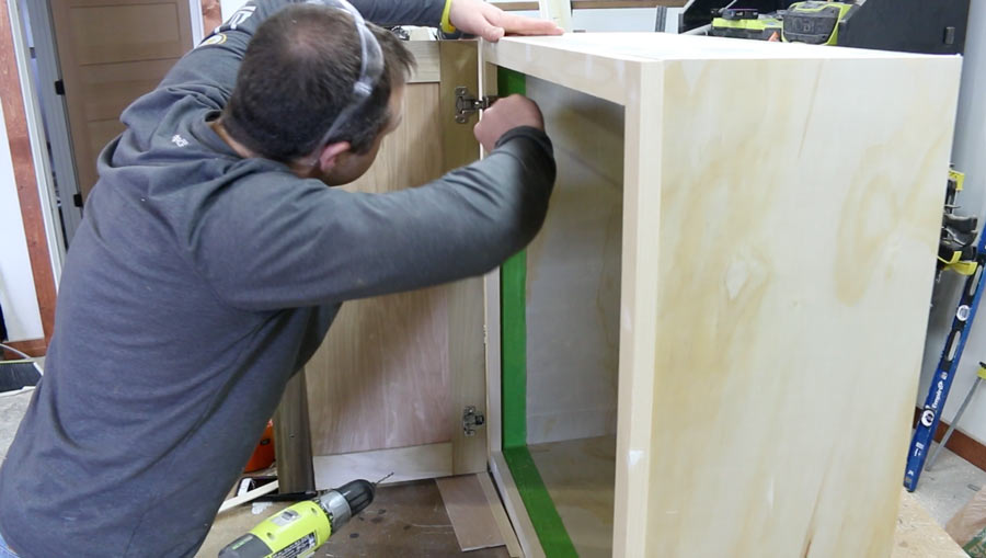 how to make your own cabinets