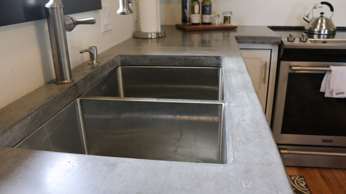 how to install an undermount sink securely