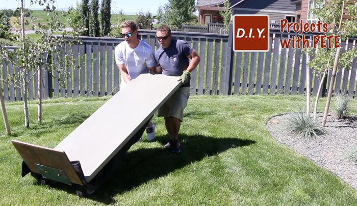 How to Make Concrete Counters for an Outdoor Kitchen | DIY