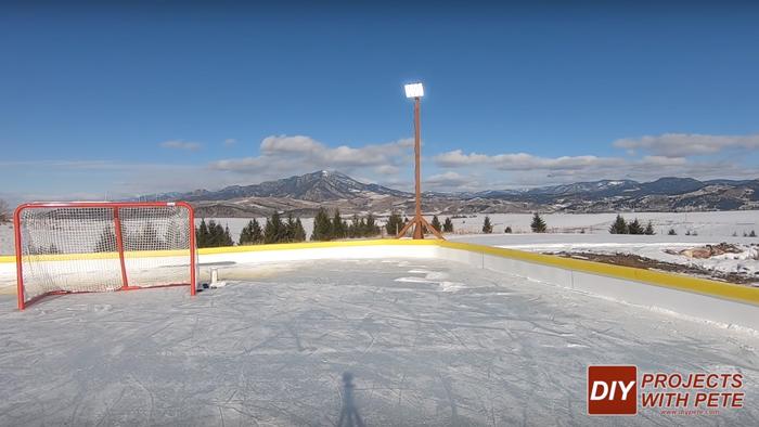 best outdoor hockey rink lights