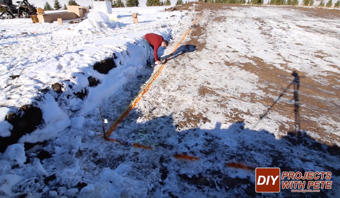 how to make an outdoor hockey rink