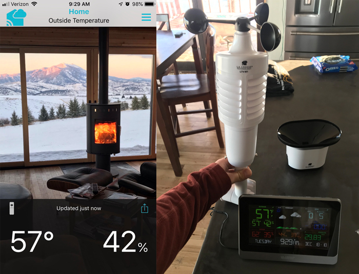 weather station for home