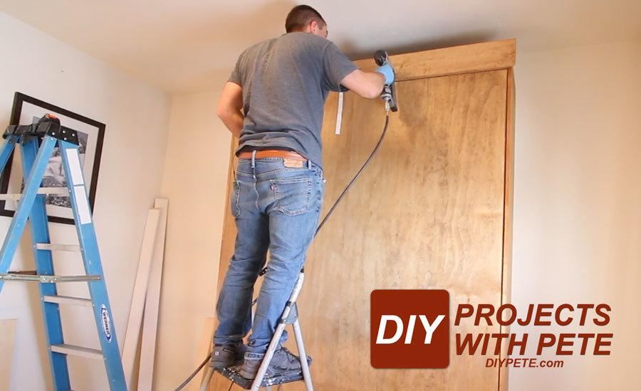 murphy bed crown molding