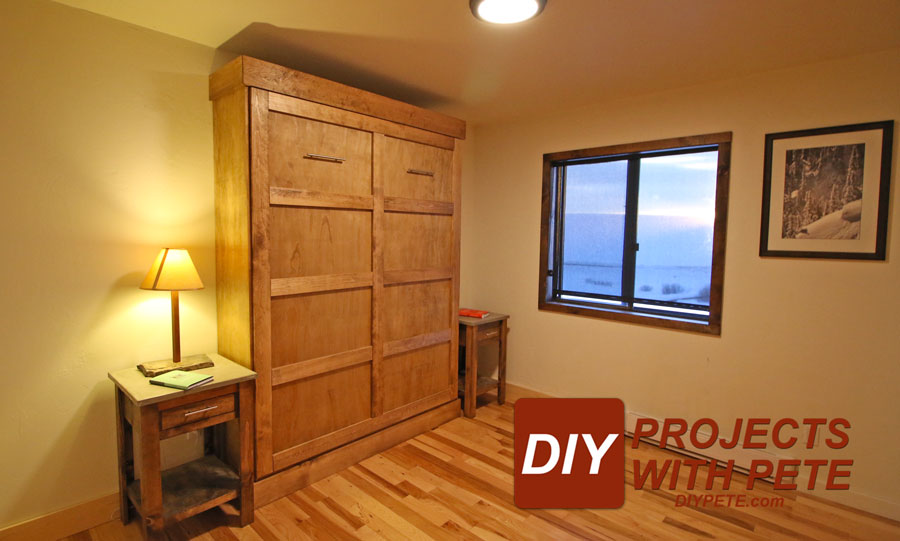 How To Build A Murphy Bed Diy Murphy Bed Tutorial And Video