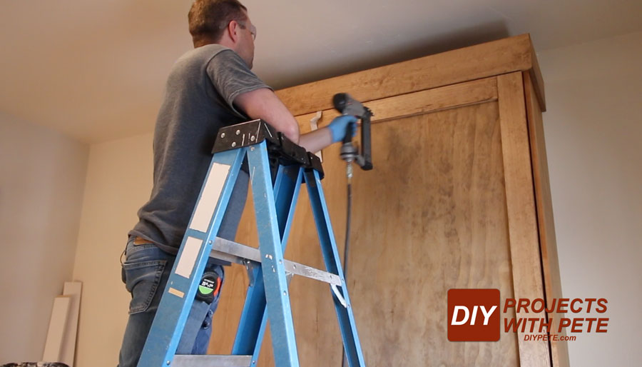 how to add trim to a murphy bed