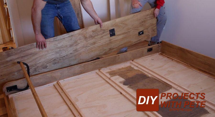 assembling a murphy bed