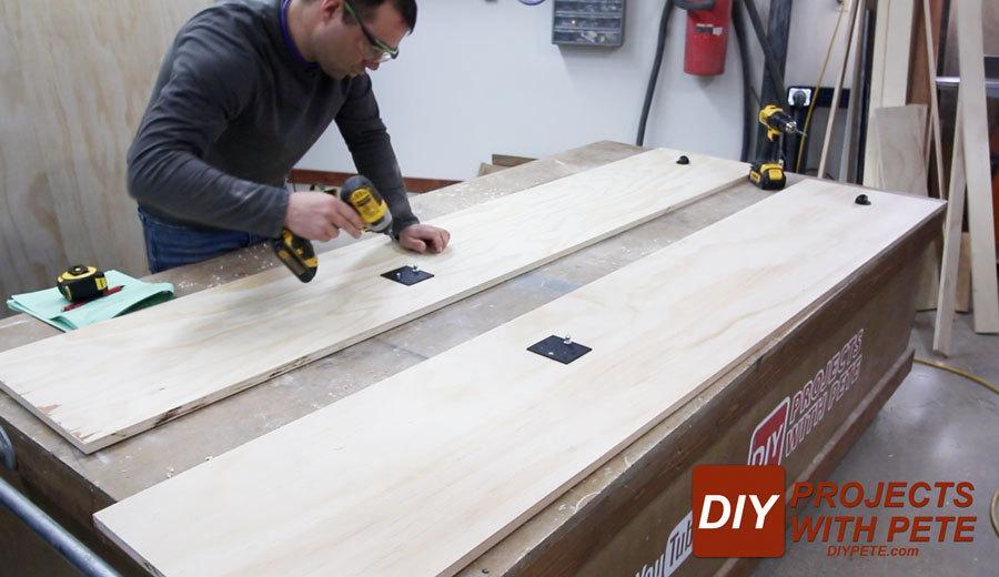 diy wall bed kit