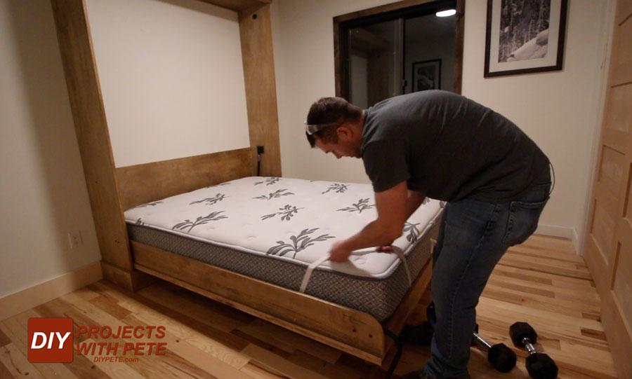 murphy bed mattress thickness