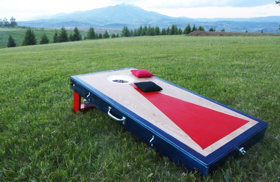best cornhole board ideas
