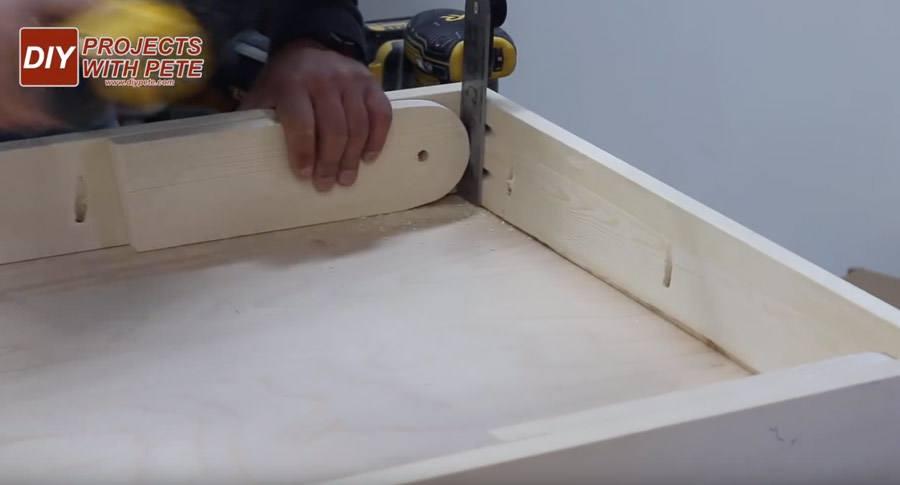 easiest cornhole board plans