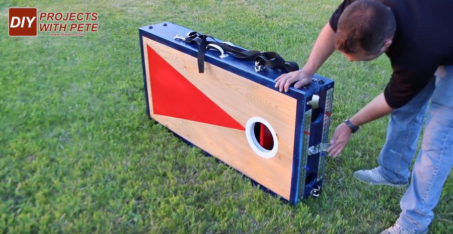 best cornhole board plans