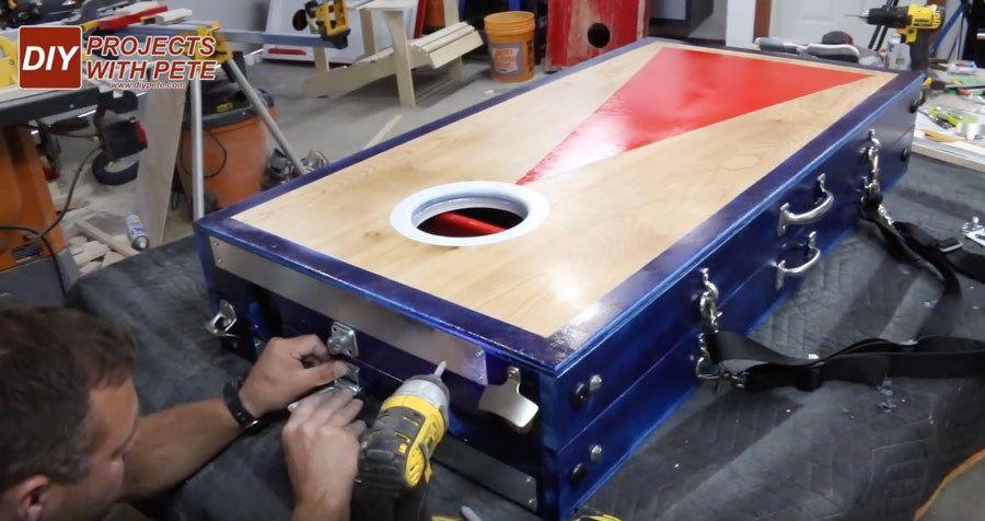 cornhole board buckles