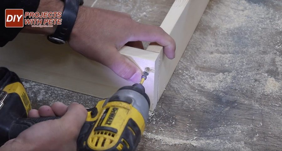 cornhole board making