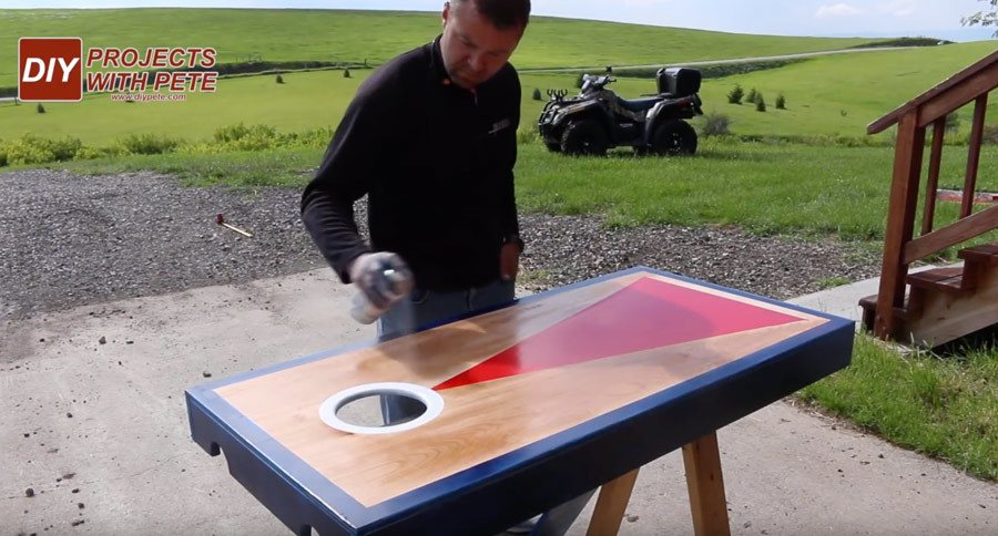 sealing cornhole boards