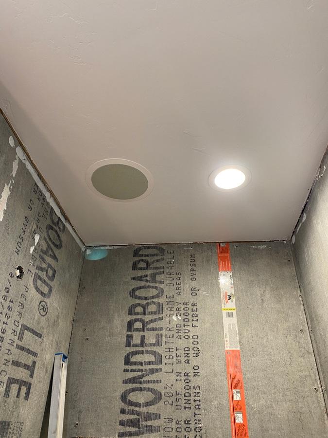 speaker ideas for bathroom