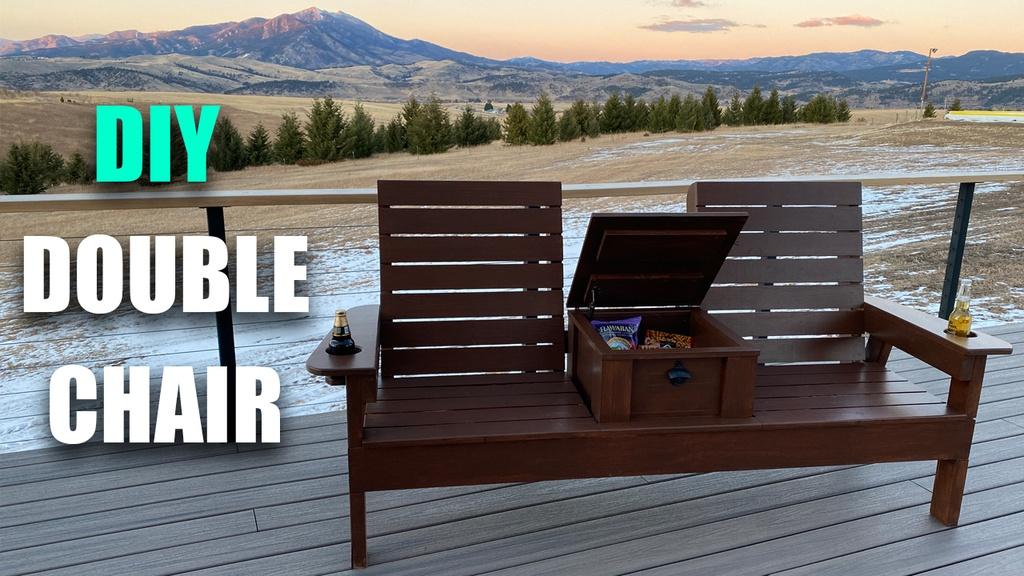 DIY Double Chair