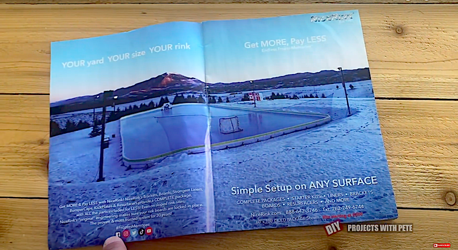 Our DIY outdoor hockey featured in USA Hockey Magazine
