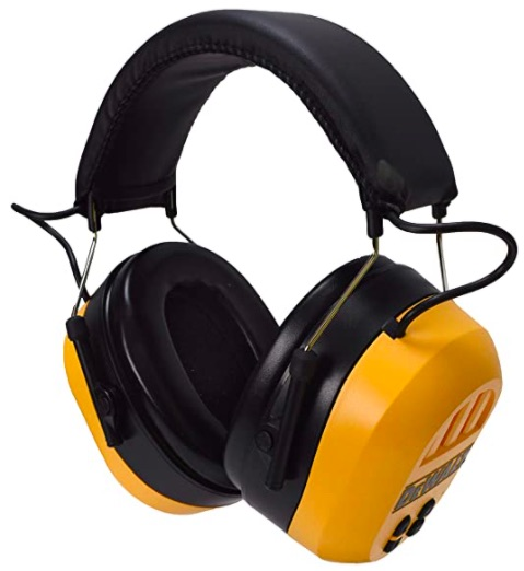 Dewalt bluetooth ear protection