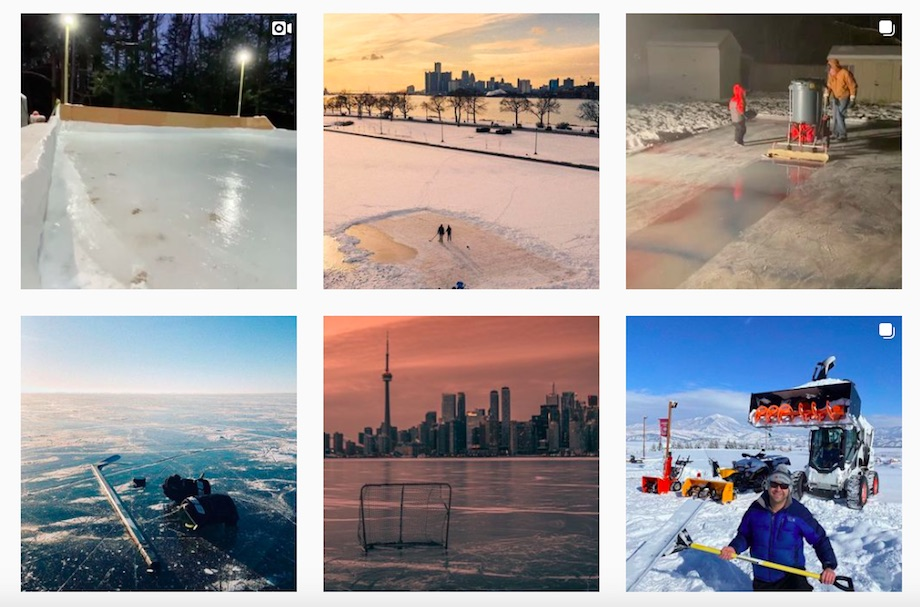 Outdoor Rink Heaven instagram feed