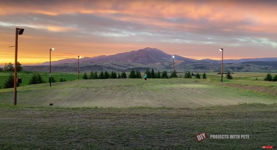 Grassy field during summer