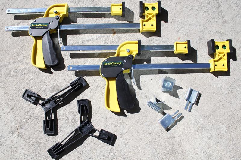 Jack clamp system