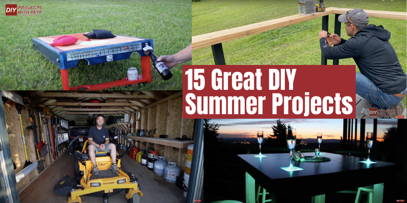 15 Great DIY Summer Projects