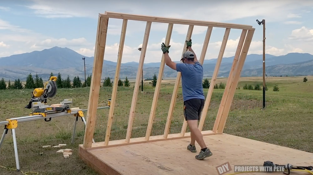 lean to shed ideas